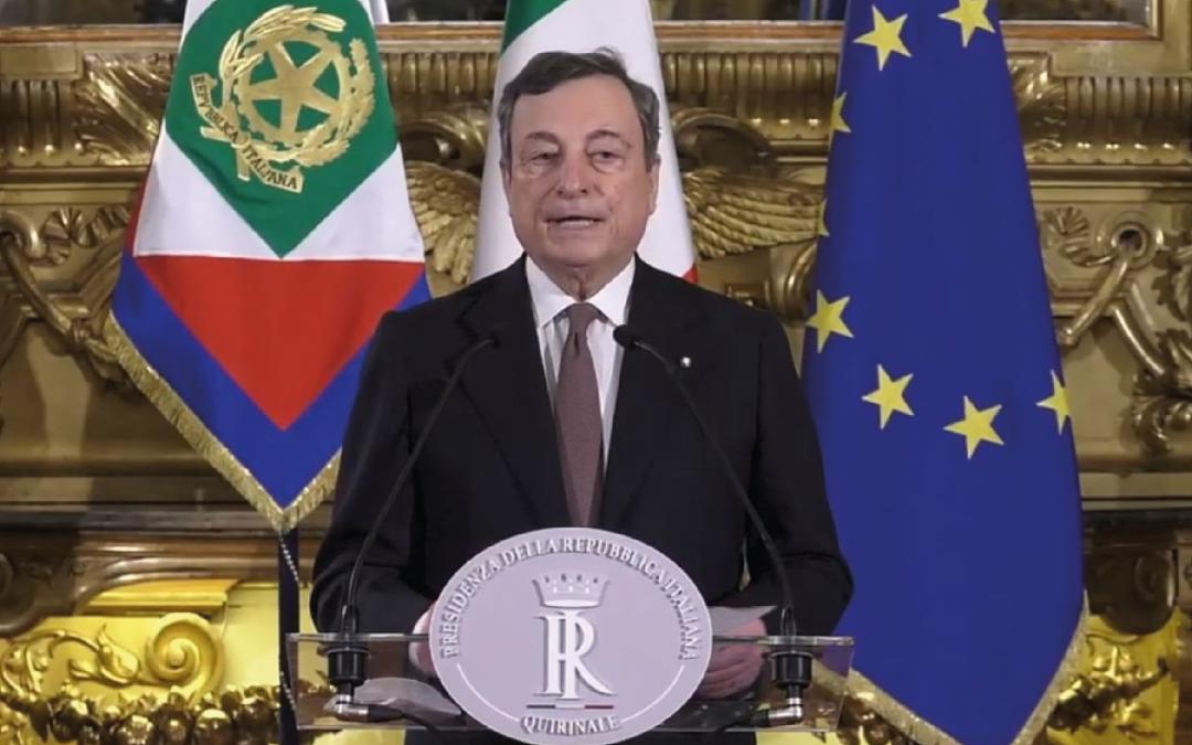Draghi, l'Italia e l'Europa