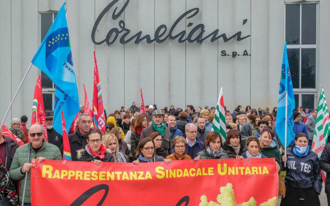 Corneliani, per i sindacati positive le parole del Ministro Giorgetti